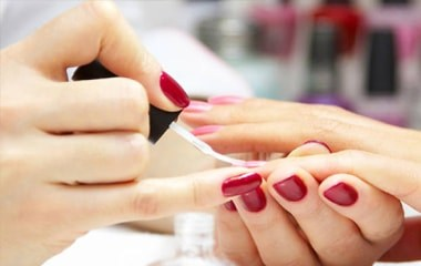 spa and beauty manicure